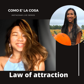 IGTV Show - Stories About The Law Of Attraction - Como e' la cosa Series