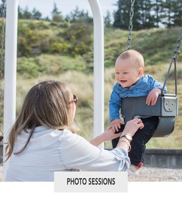 Mommy and Me Moments Photo Session near Seattle, Washington