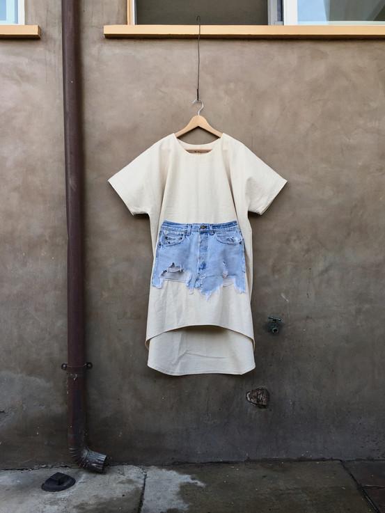 canvas pocket dress