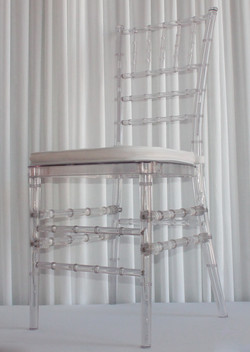 crystal chiavari chair