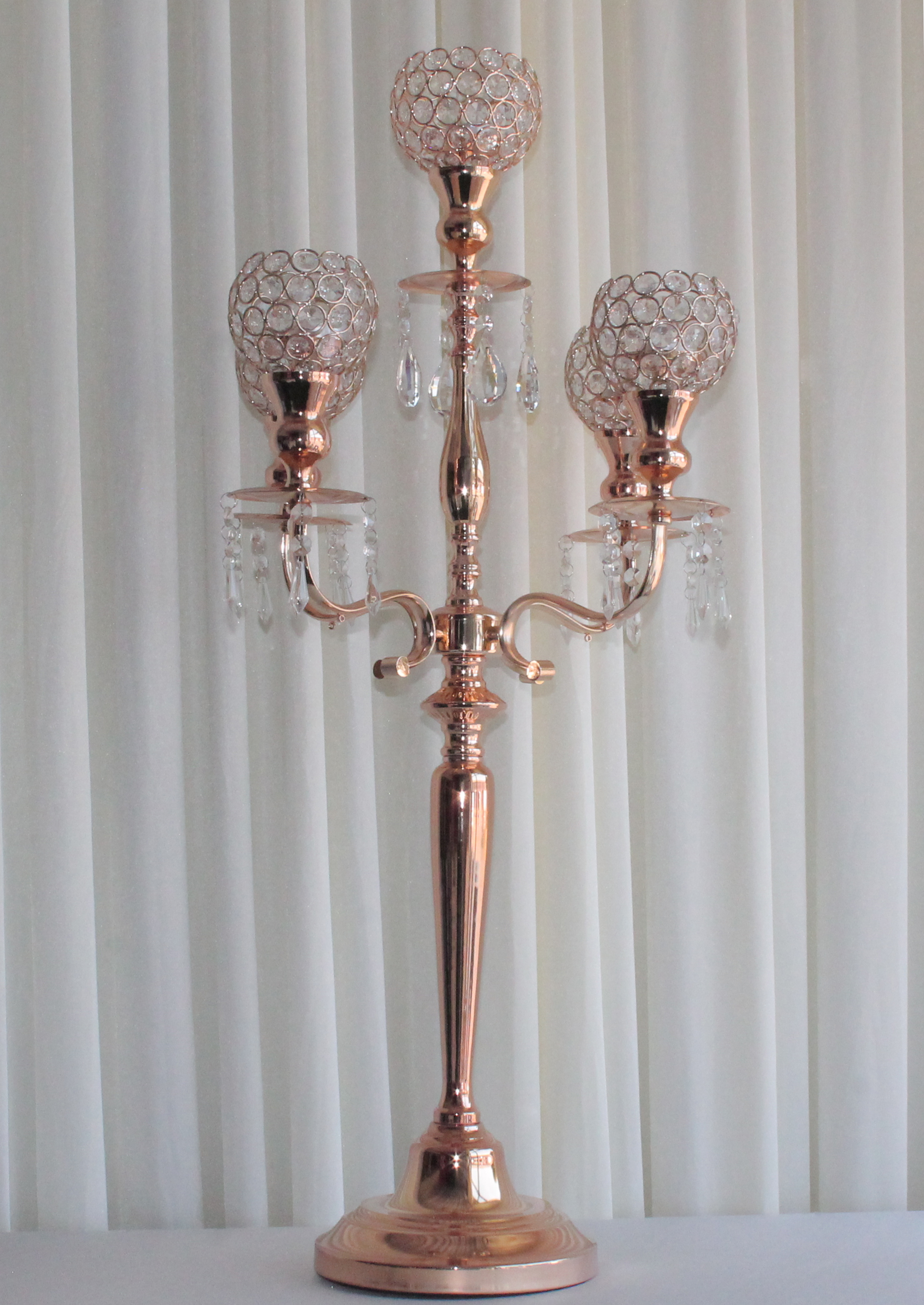 gold crystal candleabra cp