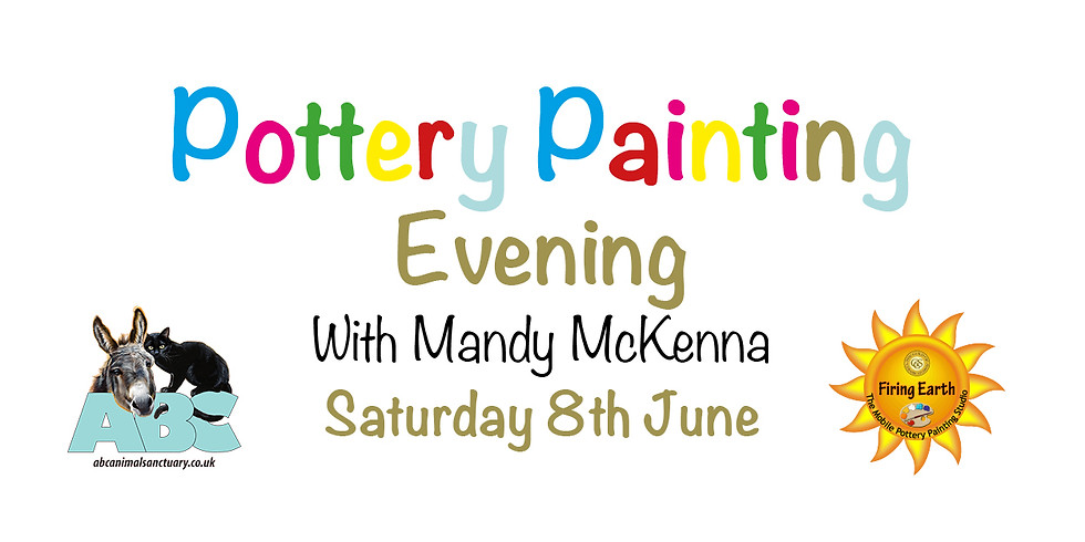 Pottery Painting Evening with Mandy McKenna