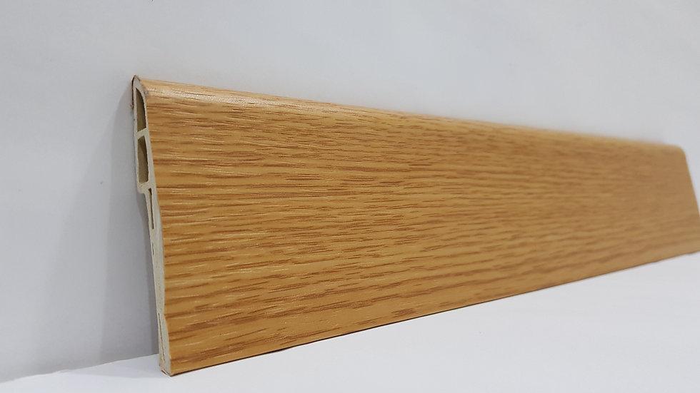 PVC Skirting 70mmH Oak