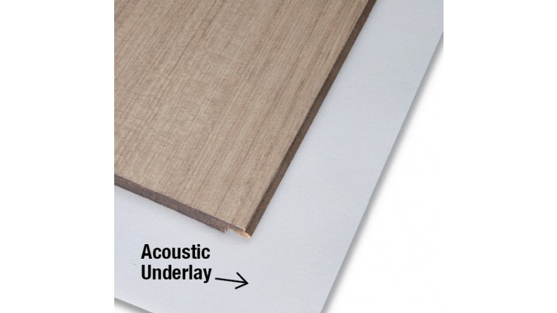Acoustic Underlay - 2mm Thick