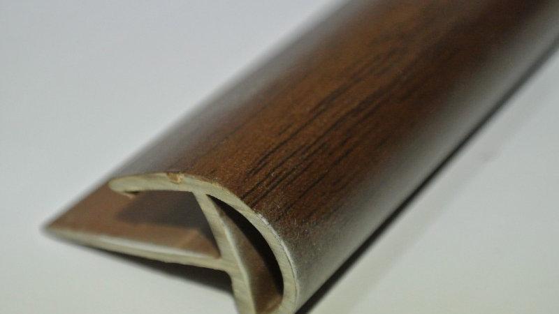 Bullnose (For 8mm panel) Mahogany