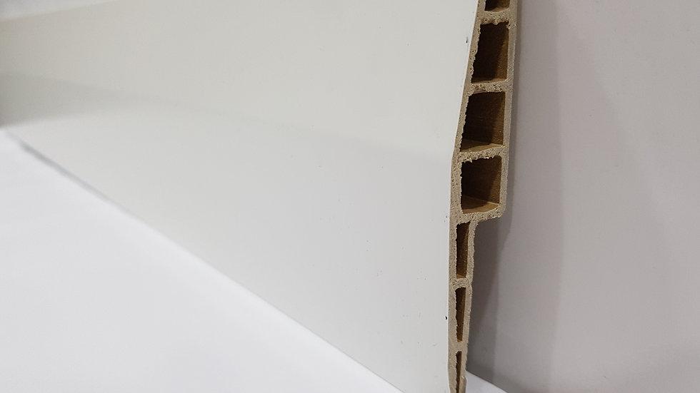 PVC Skirting 100mmH Pure White