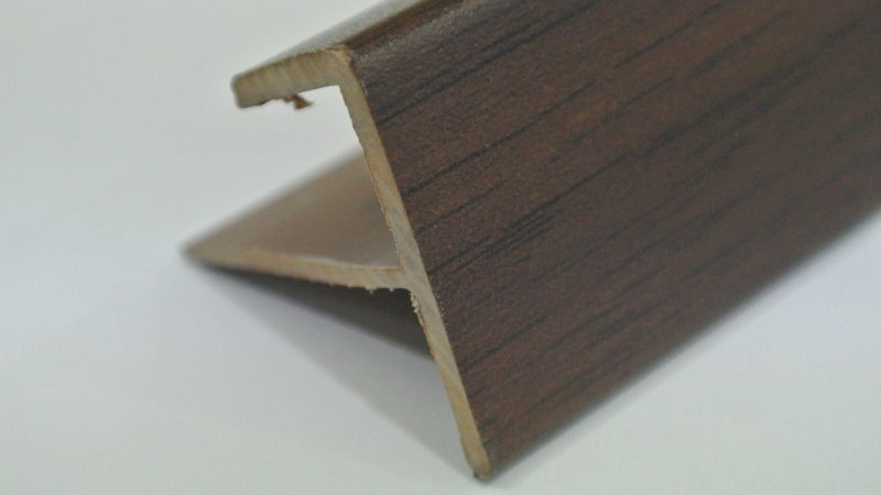 Nosing - F Type (For 12mm panel) Mahogany