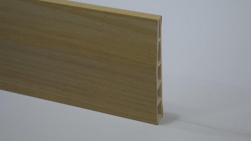 PVC Skirting 100mmH Maple