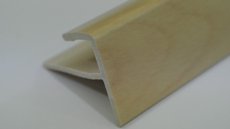 Nosing - F Type (For 8mm panel) Maple