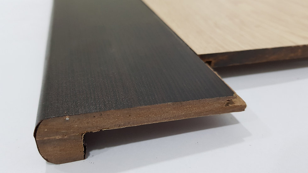 HDF Stairnose (Groove in - For 8mm panel) African Wenge
