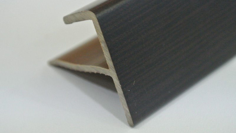 Nosing - F Type (For 12mm panel) Afican Wenge