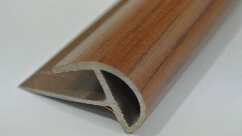 Bullnose (For 8mm panel) Walnut