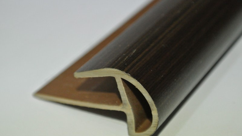 Bullnose (For 8mm panel) African Wenge