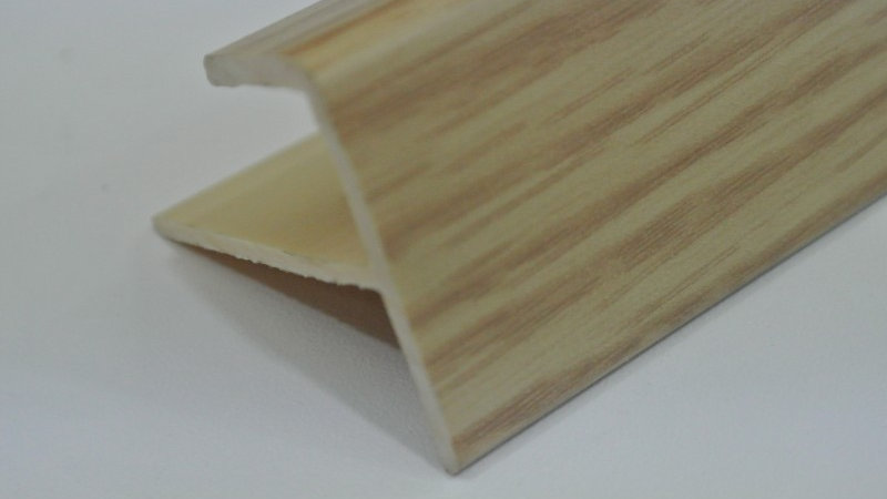 Nosing - F Type (For 12mm panel) Almond
