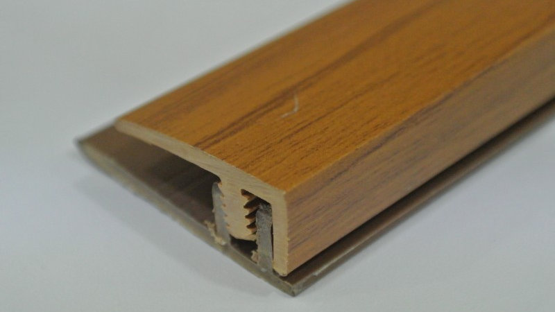 End (For 8mm panel) Teak