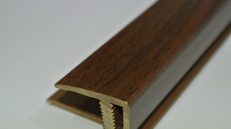End (For 12mm panel) Mahogany