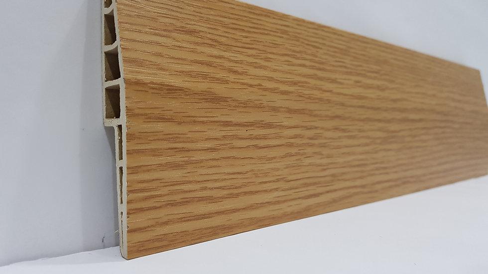 PVC Skirting 100mmH Oak