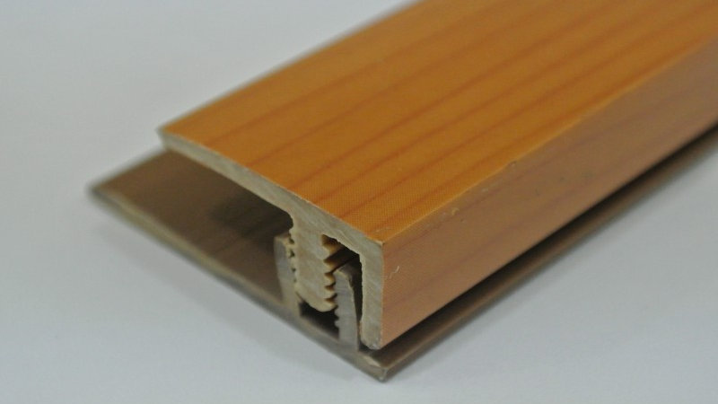 End (For 8mm panel) Cherry