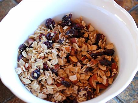 Healthy Gluten-Free Granola