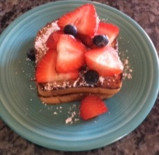 Vegan and Gluten-free French Toast