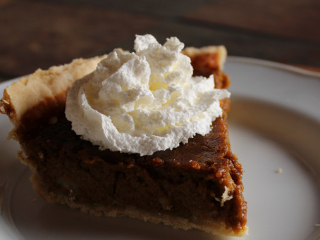 Easy Dairy and Gluten-Free Pumpkin Pie
