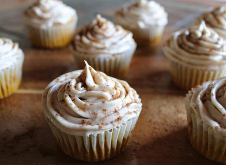Gluten-Free Pumpkin Spice Cupcakes With Pumpkin Spice Cream Cheese Frosting