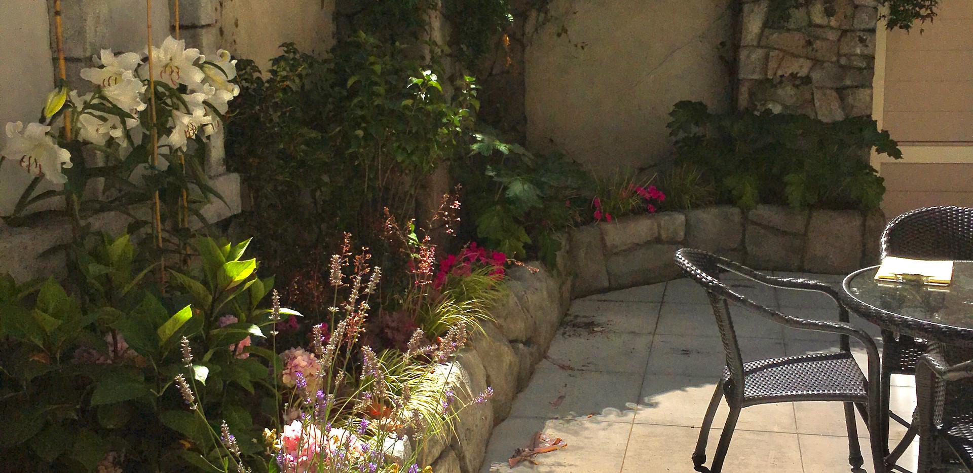 Sunbathing Gardenscape