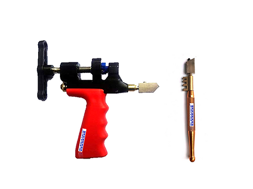 Elegance Central Diamond Tippped Glass Cutter & Glass Cutter with Breaker Combo