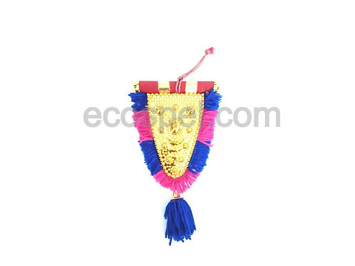 Car Hanging Nettippattam | Kerala Handcrafted Double Sided Home Decor |