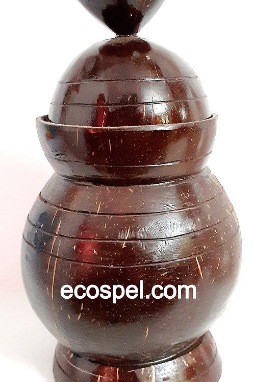 Coconut Shell Jug   Good Finished Handcraft Chiratta Jug