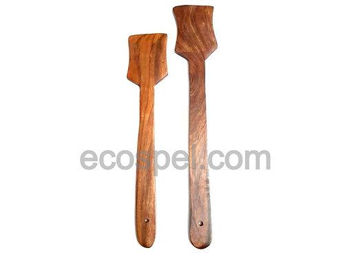 Wooden Spatula Combo Set of 2 Spoon  