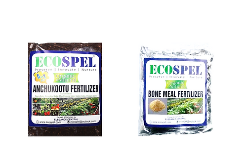 Ecospel Plants Meal Combo Pack of 2 | Bone Meal Anchukootu Combo Pack