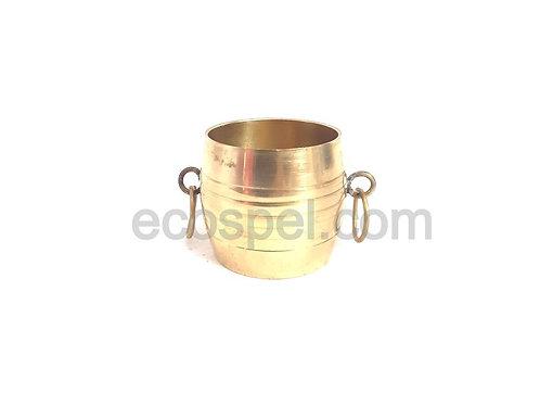 Measuring Vessel | Good Finished Small Handy Type Kerala Handicraft Brass para |