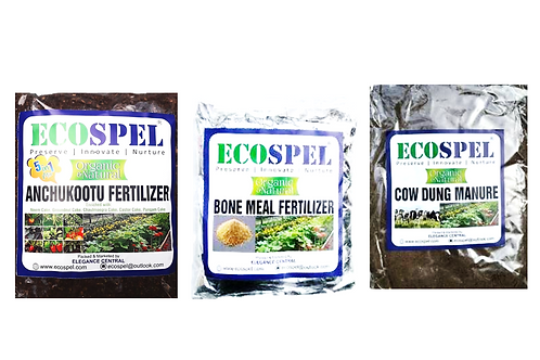 Ecospel Plants Meal Combo Pack of 3   3 Different Types of Vegetable Meal Combo