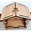Thumbnail: Elegance Central Wooden Christmas Crib Set   Good Finished Wood Nativity Set  