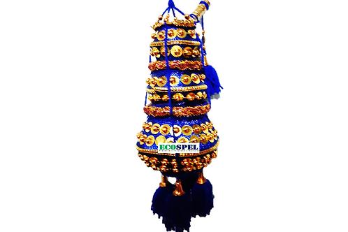 Ecospel 3 Step Multi-Colored Colored Krishna Butter Pot