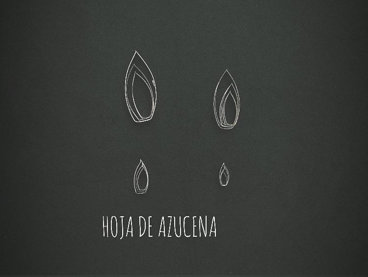 HOJA DE AZUCENA