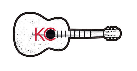 KC Guitar Sticker
