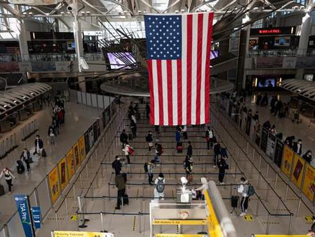 Endurece Estados Unidos las restricciones a los viajeros