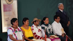 ¿Qué ha hecho el presidente por los indígenas?