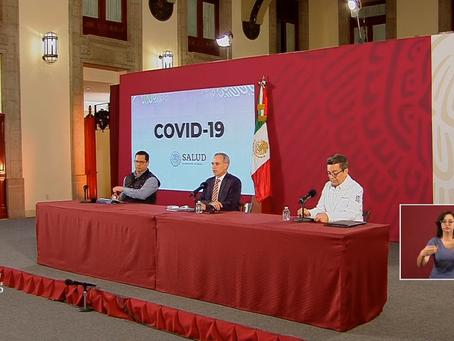 Lunes 06 de abril: Total de Mexicanos Positivos y Fallecidos por Coronavirus #QuedateEnCasa