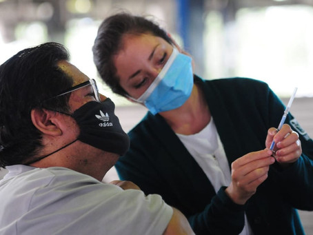 Abren registro de vacuna para mayores de 18 años de zonas fronterizas