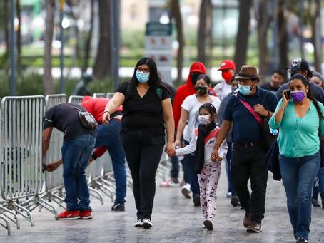 "CDMX ingresa a semáforo naranja ""sin bajar la guardia"""
