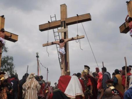 Sin público, así se vive la Pasión y Muerte de Cristo en Iztapalapa #ENVIVO
