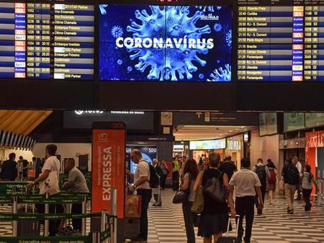 Entran en vigor restricciones de viaje a EUA y a España por la COVID-19