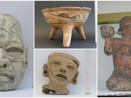 Alemanes devuelven 34 piezas arqueológicas a méxico