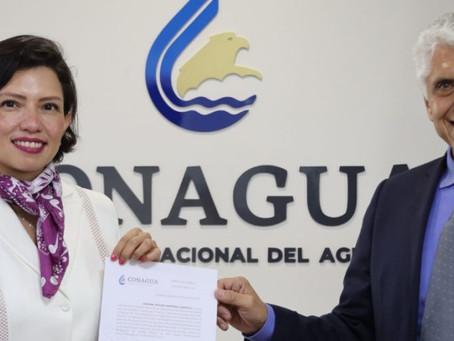 Nueva subdirectora General de Administración de la Conagua