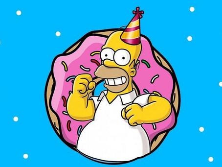 Los Simpson cumplen años