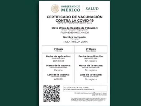 Este es el proceso, paso a paso, para obtener el certificado de vacunación Covid