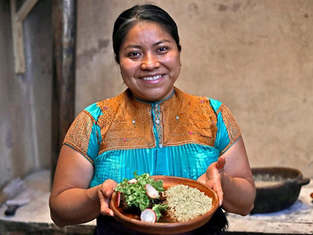 ¡Orgullo mexicano! Claudia Ruiz, indígena tzotzil, está entre las mejores 50 chefs del mundo